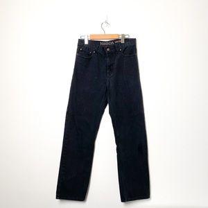 Vintage Nevada High Rise Straight Leg Rigid Jeans